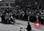 Image of President Wilson's motorcade Highland Park Michigan USA, 1916, second 7 stock footage video 65675030101