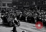 Image of President Wilson's motorcade Highland Park Michigan USA, 1916, second 8 stock footage video 65675030101