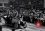 Image of President Wilson's motorcade Highland Park Michigan USA, 1916, second 9 stock footage video 65675030101