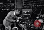 Image of Ford Model A engine block Michigan United States USA, 1927, second 9 stock footage video 65675030103