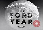 Image of Ford's progress in 1934 during Great Depression United States USA, 1935, second 4 stock footage video 65675030127