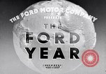 Image of Ford's progress in 1934 during Great Depression United States USA, 1935, second 12 stock footage video 65675030127