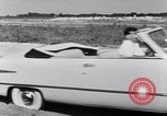 Image of Ford automobiles being road tested Dearborn Michigan USA, 1951, second 11 stock footage video 65675030130