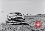 Image of Ford automobiles being road tested Dearborn Michigan USA, 1951, second 12 stock footage video 65675030130
