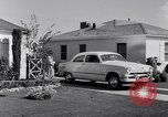 Image of 1951 Ford Custom Fordor sedan Dearborn Michigan USA, 1951, second 6 stock footage video 65675030131