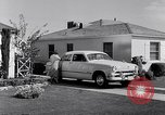 Image of 1951 Ford Custom Fordor sedan Dearborn Michigan USA, 1951, second 7 stock footage video 65675030131