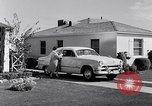 Image of 1951 Ford Custom Fordor sedan Dearborn Michigan USA, 1951, second 8 stock footage video 65675030131