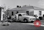 Image of 1951 Ford Custom Fordor sedan Dearborn Michigan USA, 1951, second 10 stock footage video 65675030131
