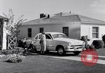 Image of 1951 Ford Custom Fordor sedan Dearborn Michigan USA, 1951, second 11 stock footage video 65675030131
