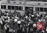 Image of milling crowd Dearborn Michigan USA, 1938, second 2 stock footage video 65675030135