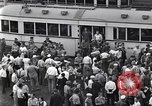 Image of milling crowd Dearborn Michigan USA, 1938, second 3 stock footage video 65675030135