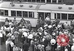Image of milling crowd Dearborn Michigan USA, 1938, second 4 stock footage video 65675030135