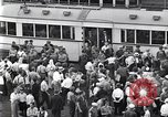 Image of milling crowd Dearborn Michigan USA, 1938, second 5 stock footage video 65675030135