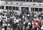 Image of milling crowd Dearborn Michigan USA, 1938, second 6 stock footage video 65675030135