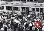 Image of milling crowd Dearborn Michigan USA, 1938, second 7 stock footage video 65675030135