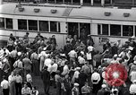 Image of milling crowd Dearborn Michigan USA, 1938, second 8 stock footage video 65675030135