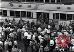 Image of milling crowd Dearborn Michigan USA, 1938, second 9 stock footage video 65675030135