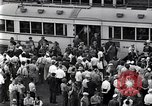 Image of milling crowd Dearborn Michigan USA, 1938, second 10 stock footage video 65675030135