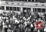 Image of milling crowd Dearborn Michigan USA, 1938, second 11 stock footage video 65675030135