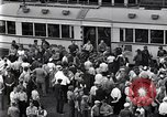 Image of milling crowd Dearborn Michigan USA, 1938, second 12 stock footage video 65675030135