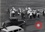 Image of newspaper vendors Dearborn Michigan USA, 1938, second 1 stock footage video 65675030136