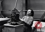Image of sculptress Detroit Michigan USA, 1932, second 12 stock footage video 65675030141
