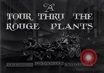 Image of Ford River Rouge Plant tour Dearborn Michigan USA, 1928, second 3 stock footage video 65675030157