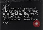 Image of automatic machinery Dearborn Michigan USA, 1928, second 1 stock footage video 65675030169