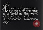 Image of automatic machinery Dearborn Michigan USA, 1928, second 2 stock footage video 65675030169