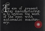Image of automatic machinery Dearborn Michigan USA, 1928, second 3 stock footage video 65675030169