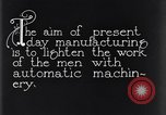 Image of automatic machinery Dearborn Michigan USA, 1928, second 7 stock footage video 65675030169