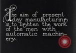 Image of automatic machinery Dearborn Michigan USA, 1928, second 8 stock footage video 65675030169