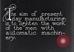 Image of automatic machinery Dearborn Michigan USA, 1928, second 12 stock footage video 65675030169