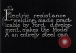 Image of shaping steel Dearborn Michigan USA, 1928, second 3 stock footage video 65675030170
