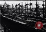 Image of shipyard Michigan United States USA, 1919, second 1 stock footage video 65675030172