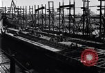 Image of shipyard Michigan United States USA, 1919, second 2 stock footage video 65675030172