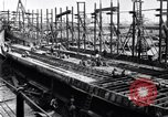 Image of shipyard Michigan United States USA, 1919, second 3 stock footage video 65675030172