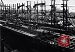 Image of shipyard Michigan United States USA, 1919, second 8 stock footage video 65675030172