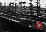 Image of shipyard Michigan United States USA, 1919, second 9 stock footage video 65675030172