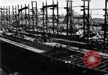 Image of shipyard Michigan United States USA, 1919, second 10 stock footage video 65675030172