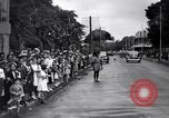Image of French troops reviewed Cayenne French Guiana, 1942, second 7 stock footage video 65675030193