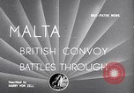 Image of British naval convoy Malta, 1942, second 2 stock footage video 65675030201