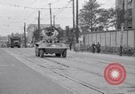 Image of American Army convoy Tokyo Japan, 1945, second 4 stock footage video 65675030212