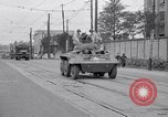 Image of American Army convoy Tokyo Japan, 1945, second 5 stock footage video 65675030212