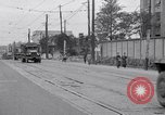 Image of American Army convoy Tokyo Japan, 1945, second 7 stock footage video 65675030212
