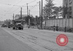 Image of American Army convoy Tokyo Japan, 1945, second 8 stock footage video 65675030212
