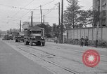 Image of American Army convoy Tokyo Japan, 1945, second 9 stock footage video 65675030212