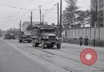 Image of American Army convoy Tokyo Japan, 1945, second 10 stock footage video 65675030212