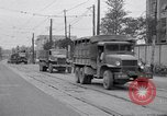 Image of American Army convoy Tokyo Japan, 1945, second 11 stock footage video 65675030212