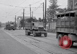 Image of American Army convoy Tokyo Japan, 1945, second 12 stock footage video 65675030212